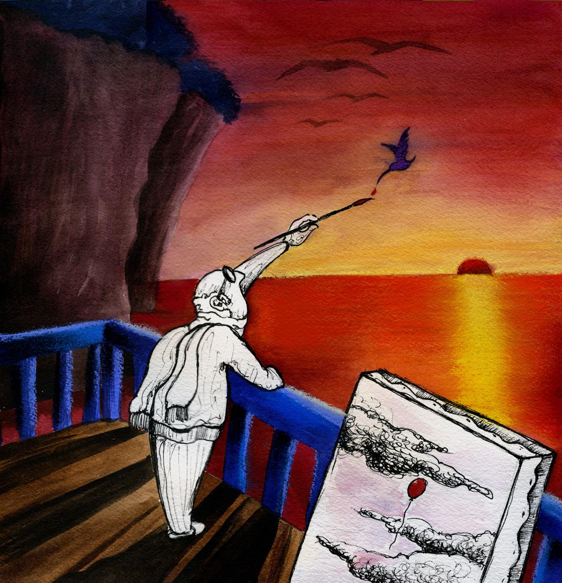 il pittore del cielo