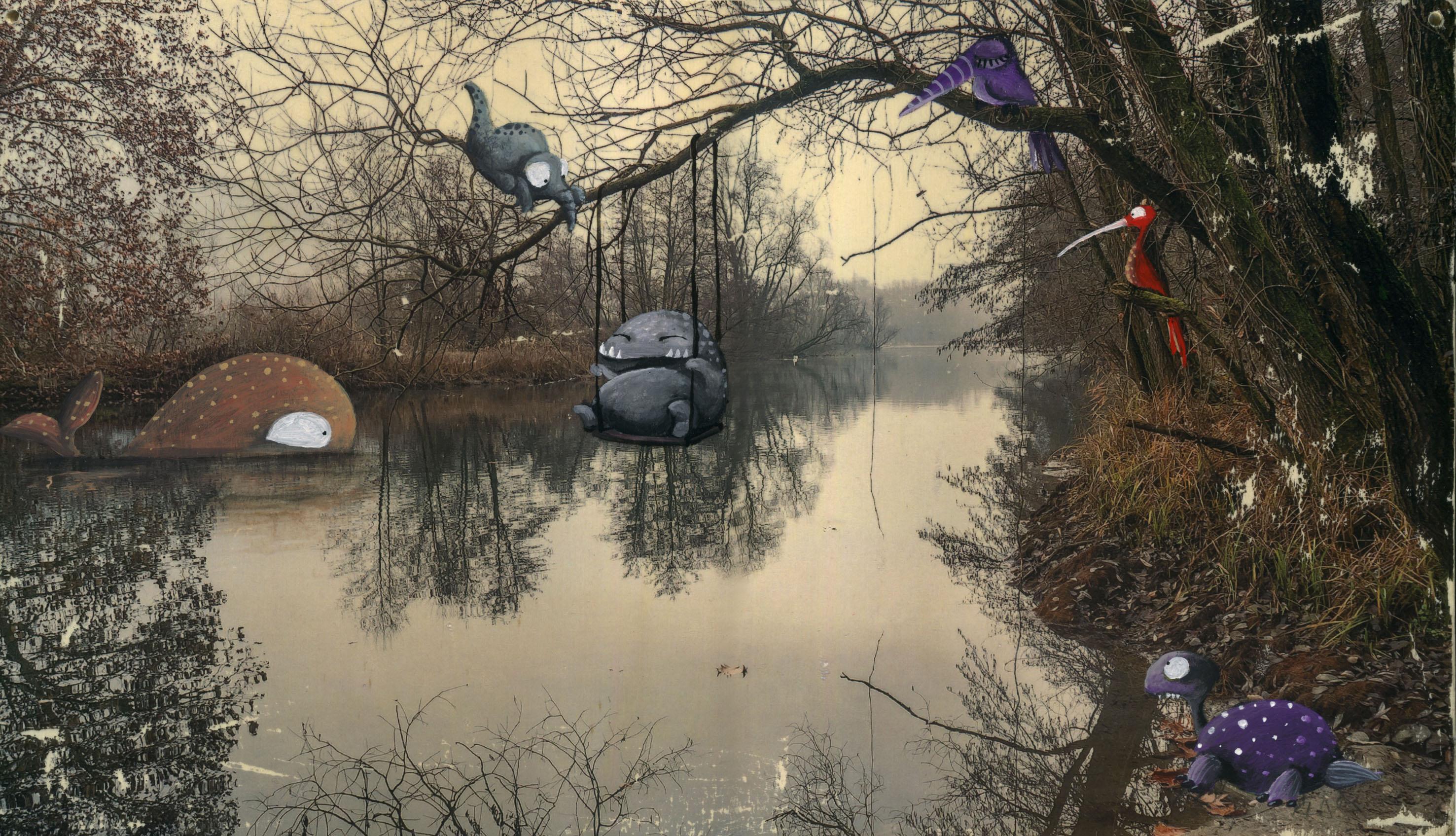 il lago dei mostri